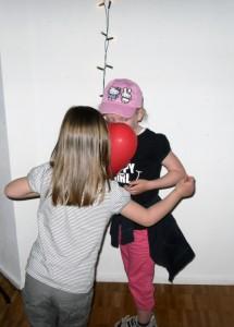 Luftballontanz Mädchen