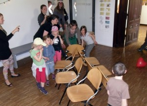 Stuhltanz Kinder